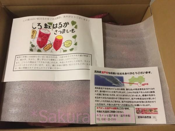 高知県室戸市ふるさと納税-パンフレットも入っています。