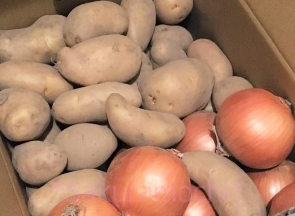 北海道長沼町のふるさと納税-じゃがいもと玉葱計10kg