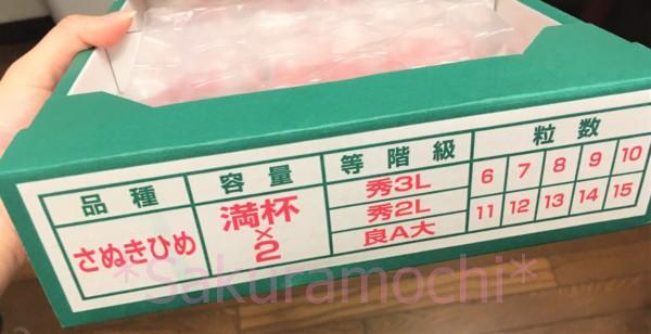 香川県三木町ふるさと納税-外箱(品種さぬきひめ)