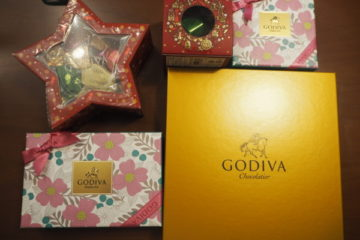 GODIVAの73%OFF御殿場店限定20周年記念セット保冷バッグ付