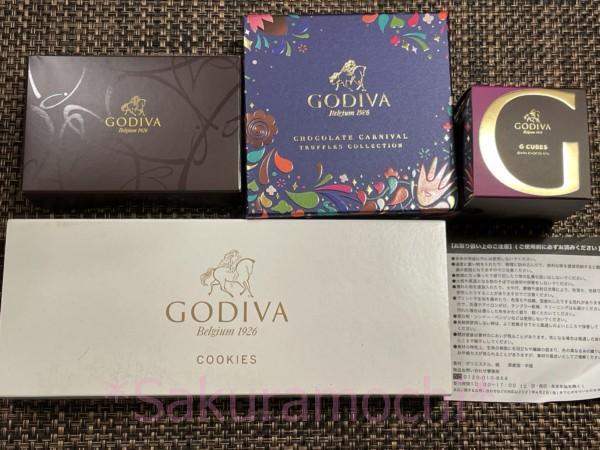 3000円福袋の全容/GODIVAの2021年アウトレット福袋