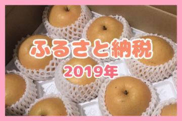 【ふるさと納税】鳥取県湯梨浜町の新興梨10kg(10,000円)が届きました🍏